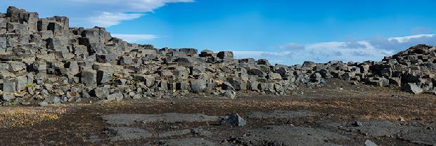 Basalt near Dettifoss