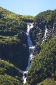 WATERFALL ALONG SOGNEFJORD