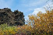 AUTUMN COLORS WITH LAVA FORMATIONS